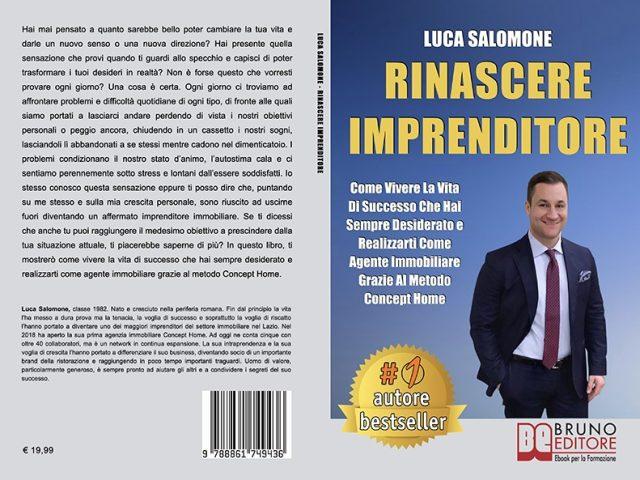 Luca Salomone: il Bestseller su come raggiungere il successo in campo immobiliare