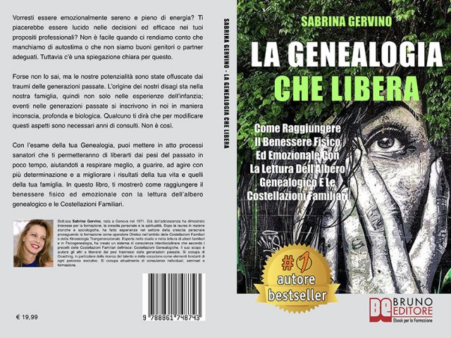 """Libri: """"La Genealogia Che Libera"""" di Sabrina Gervino mostra il segreto per comprendere il proprio albero genealogico"""