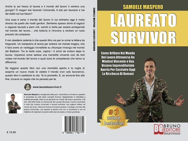 """Libri: Samuele Maspero svela il segreto per brillare nel mondo del lavoro con """"Laureato Survivor"""""""