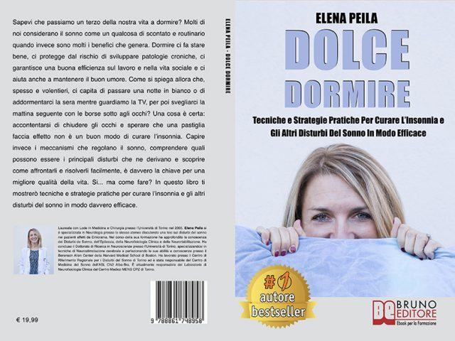 Elena Peila, Dolce Dormire: il Bestseller su come migliorare la qualità del sonno