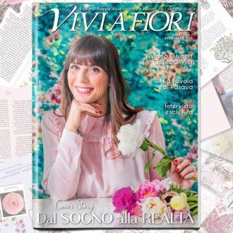 Viviana Grunert lancia il Magazine VIVI A FIORI, il salotto floreale dove sognare e ispirarsi tra i dettagli di stile