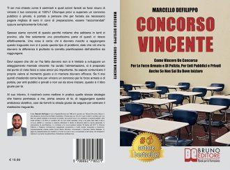 """Libri: """"Concorso Vincente"""" di Marcello Defilippo mostra l'importanza del mindset per superare i concorsi"""