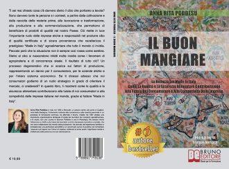 Anna Rita Poddesu, Il Buon Mangiare: il Bestseller sull'importanza del Made In Italy in ambito alimentare