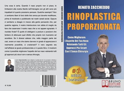 Renato Zaccheddu, Rinoplastica Proporzionata: il Bestseller su come migliorare l'aspetto del proprio naso
