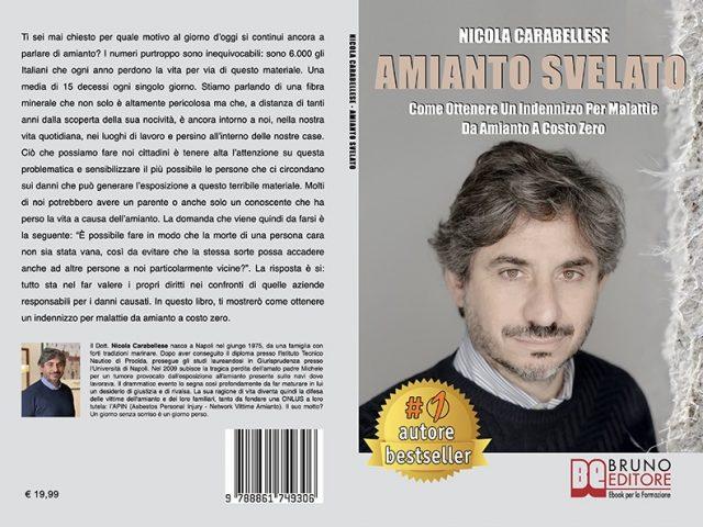 Nicola Carabellese, Amianto Svelato: il Bestseller su come ottenere un indennizzo per malattie da amianto